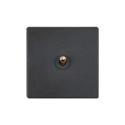 Elegant Grey Toggle Light Switches
