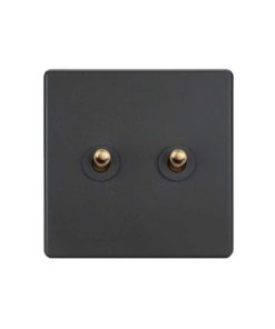 grey toggle light switch