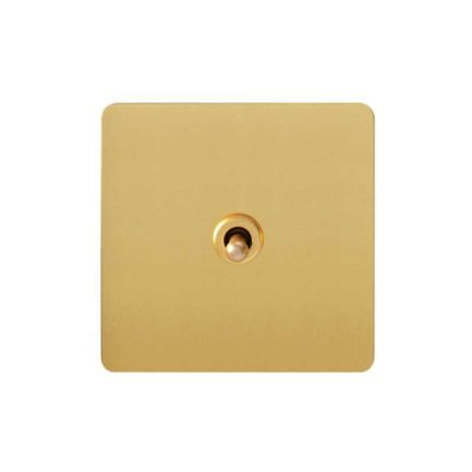 gold toggle light switch, 1 gang