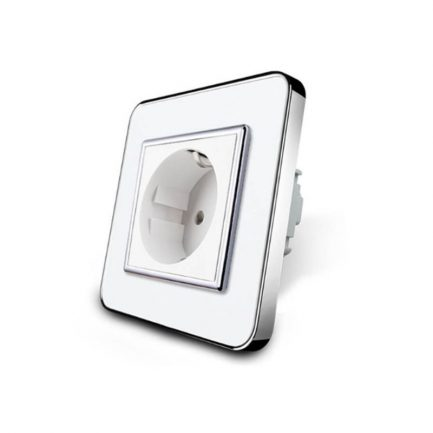 Houdini White EU Wall Socket