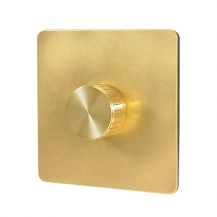 Gold Metal Dimmer Light Switch