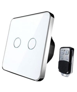 White Smart Remote Light Switch, lever 2