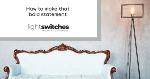 Often forgotten about, yet so impactful! Let's talk about lightswitches.