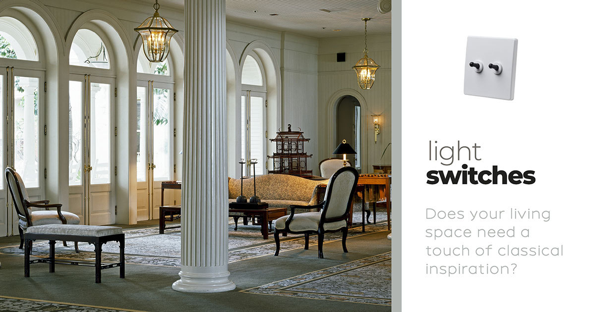 Check out these 5 ideas on how classical Light Switches can change your home.