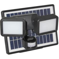 8W Solar LED Floodlight with PIR